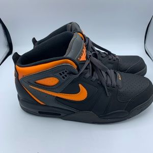 Nike Air Flight Falcon black Bright Citrus…